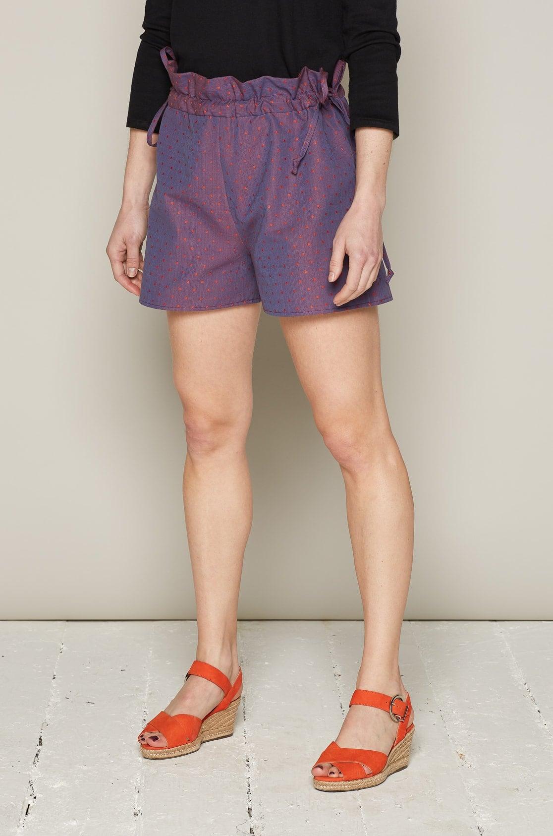f125ae0c64 Bo Carter   Holly Shorts (Purple Dots)